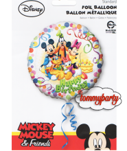"Mickey e Friends mylar 18"" palloncino"