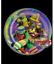 Ninja Turtles 23cm. cf.8 piatti