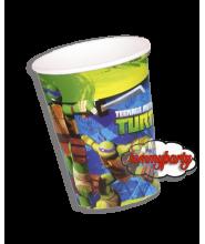 Ninja Turtles 20cl. cf.8 bicchieri
