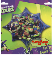 Ninja Turtles s/s palloncino