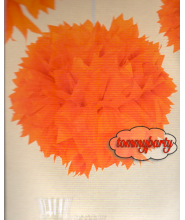 Pom Pom Orange cm.30