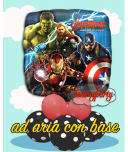 "Avengers age of Ultron 18 18"" composizione"