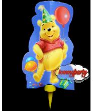 Candelina Winnie the Pooh mascherina