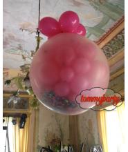 Palloncino Boom Trasparente Winx cm.90