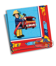 Sam Il Pompiere 20 Tovaglioli