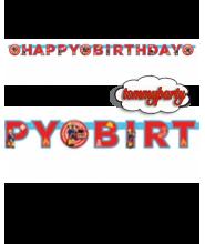 Sam Il Pompiere festone happy birthday