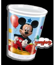 Mickey Playful 8 bicchieri plastica.