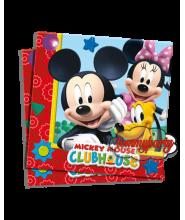 Mickey Playful tovaglioli pz.20 33x33