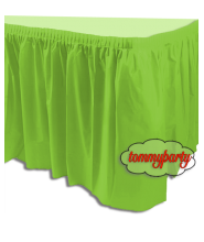 Tovaglia Tableskirt lime green