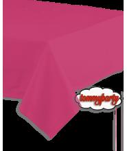 Magenta tovaglia pvc 137x274 cm.