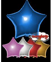 """Palloncino foil deco stella cm.45/18"""" blu"""