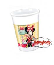 Minnie caffè 8 bicchieri plastica