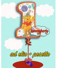 Super Shape Pooh 1ST Birthday composizione