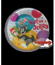 Tom & Jerry 10 piattini 18 cm.