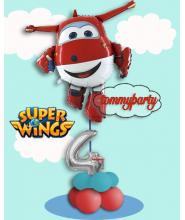 Composizione Palloncino Super Wings Jett S.S.