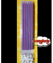 Candele matita glicine + supporto pz.12