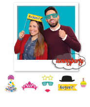 Photo Booth Buon Compleanno cm.20 pz.8