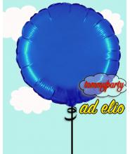 "Palloncino Mylar 18"" Rotondo blu"