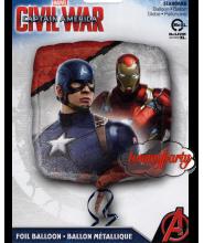 "civil war palloncino cm.45/18"""