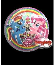 My Little Pony 8 piatti cm. 23