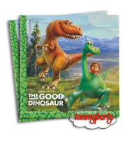 The Good dinosaur 20 tovaglioli 33x33 cm.