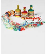 Bottigliette Strappo stelle filanti da 12 pezzi