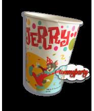 Super Mario 8 Bicchieri cartoncino