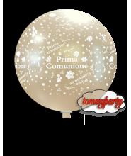 """Palloncino 32"""" Prima Comunione Perla Metall."""