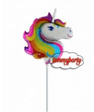 "Unicorno mini shape 15"" palloncino"