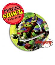 Ninja Turtles 18cm. cf.8 piatti