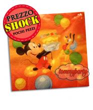 Mickey Mouse tovaglioli carta pz.20 33x33