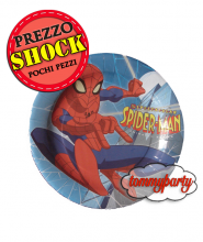 Piatti Spider man 23 cm.
