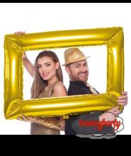 Selfie cornice oro