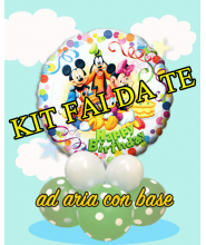 "Mickey and friends 18"" kit fai da te"