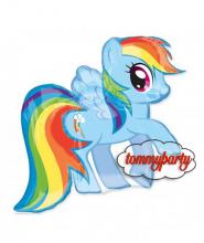 Rainbow Dash S s palloncino