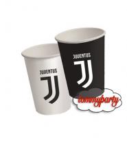 Juventus 8 bicchieri carta