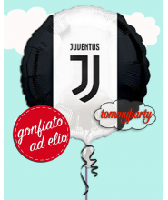 "Juventus mylar 17"" palloncino ad elio"