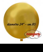 """Palloncino lattice tondo 24"""" cm.60 pz.1"""