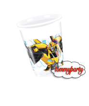 Transformers 8 bicchieri plastica