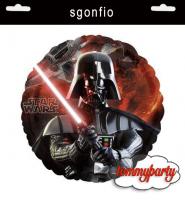 """Star Wars palloncino 18"""" sgonfio"""