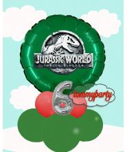 """Jurassic World 18"""" personalizzato centrotavola"""