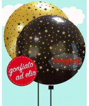 "Palloncino Gigante 32"" stelline cm.80 pz.1 ad elio"