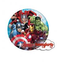 Avengers Mighty 8 piattini 20 cm.