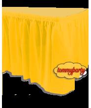Giallo Tovaglia Tableskirt pvc 73x 426