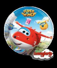 Super Wings 8 piattini 23 cm.