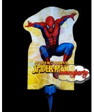 Candelina Spider Man mascherina