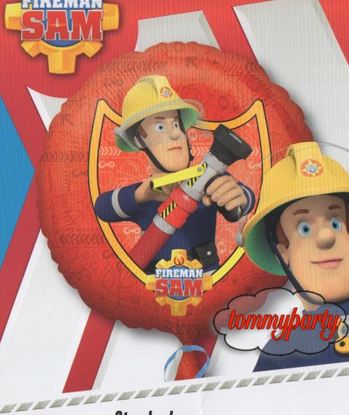 Palloncino Di Sam Il Pompiere Con Idrante Tommyparty It