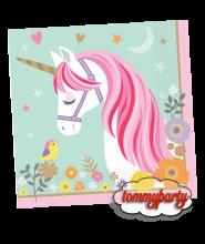 Magica Unicorno 16 tovaglioli