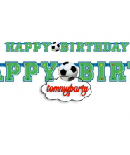 Calcio festone happy birthday