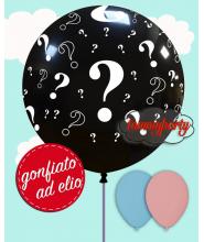 """Composizione Palloncino 32""""/cm.81 Punti interrogativi"""